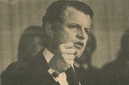 Edward Kennedy at UNH