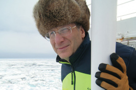 Larry Mayer, director of the UNH School of Marine Science and Ocean Engineering and the Center for Coastal and Ocean Mapping