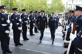 Gen. Lori Robinson visiting Australian Air Force bases and units