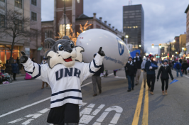 UNH Manchester in the city's 2016 holiday parade