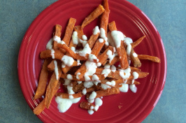 UNH Dining's sweet potato fries
