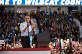 President Barack Obama at UNH, November 2016
