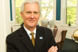 UNH President Mark Huddleston