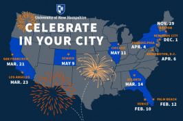 Celebrate 150: The Campaign for UNH Regional Launches Infographic