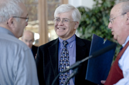 UNH Graduate School Dean Harry Richards