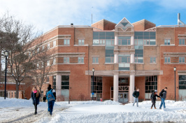 Morse Hall, home of the UNH Institute for the Study of Earth, Oceans, and Space