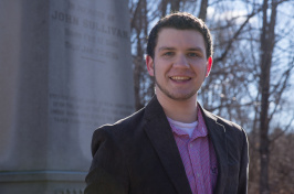 UNH history major Gabe Hoffman