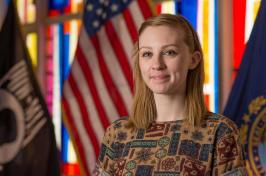 UNH alumna Samantha Howard '16