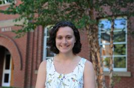 UNH graduate student Samantha Brand '17