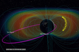 Animation of Earth's 'Supercharged' Van Allen Belt