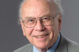 UNH professor and founder of the field of family violence research Murray Straus