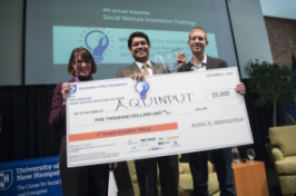 Winner of 2016 Social Venture Innovation Challenge