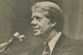 Jimmy Carter at UNH