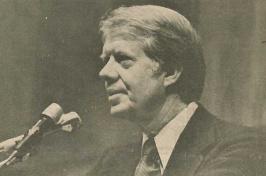 Jimmy Carter at UNH