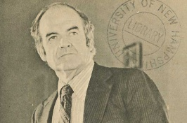 George McGovern at UNH