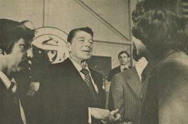 Ronald Reagan at UNH