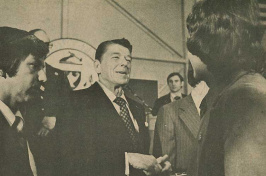 Ronald Reagan at UNH