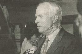 John McCain at UNH