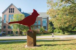 Cardinal sculpture