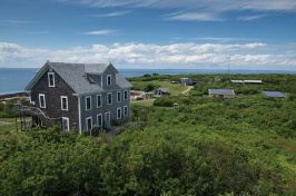 solar panels on Appledore Island