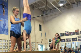 UNH gymnastics youth camp