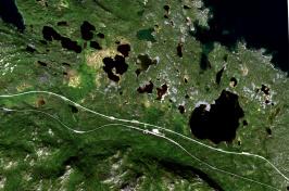 Swedish lakes and ponds