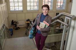 UNH student Lauren Percy '16