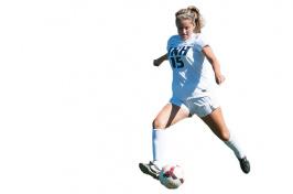 UNH women's soccer player