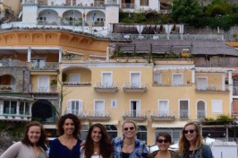 UNH students studying abroad