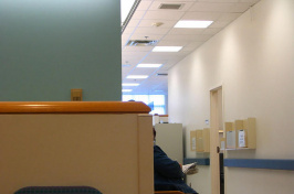 a person in a doctor's waiting area, LINELLE PHOTOGRAPHY VIA FLICKR/CC