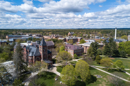 aerial of UNH's Durham campus