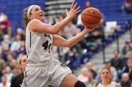 a UNH women's basketball player