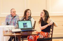 photo of Paul Pouliot, Denise Pouliot and Grace Dietz