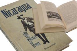 """Nicaragua and the Politics of Utopia"" cover and spread"