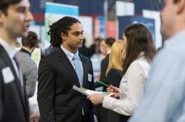 Career and Internship Fair at University of New Hampshire