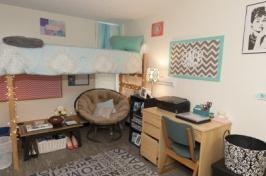UNH dorm room