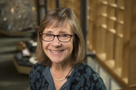 Karen Conway, professor of economics, studies how government policies affect household decisions.
