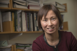 Associate professor of marketing Shuili Du studies corporate social responsibility.
