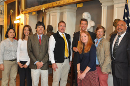 Researchers at EPA awards ceremony