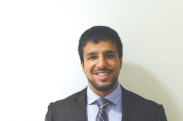 "UNH alumnus and Rangel fellow Aseebulla ""Aseeb"" Niazi '15"