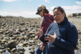 Gabby Bradt, UNH fisheries specialist