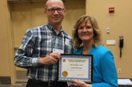 The American Physiological Society recognizes UNH Manchester's Patricia Halpin