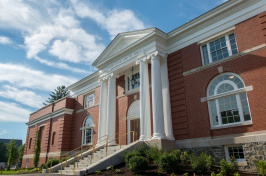 The newly renovated Hamilton Smith Hall at the University of New Hampshire in Durham