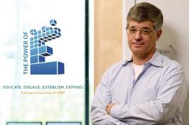 Ian Grant, director of the UNH Peter T. Paul Entrepreneurship Center