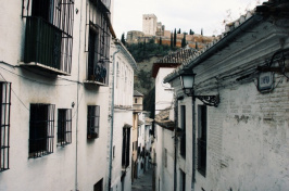 buildings in Granada