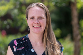 Kristen Johnson, assistant professor of biotechnology at UNH Manchester