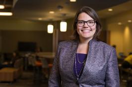 UNH Associate Professor Katie Edwards