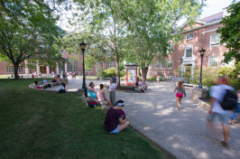 Murkland Courtyard at UNH