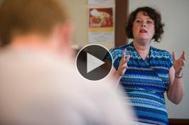 Mary Malone, UNH political science associate professor
