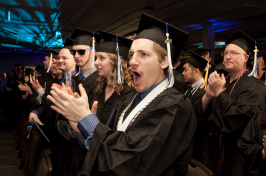 UNH Manchester commencement 2016
